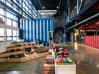 COMMON GROUND Industrial style commercial spaces