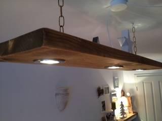 """Deckenleuchte Holz """"Tim"""":   von Casa Mediterrano"""