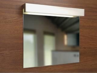 Badspiegel mit Spiegelleuchte:   von Schreiber Licht-Design-GmbH