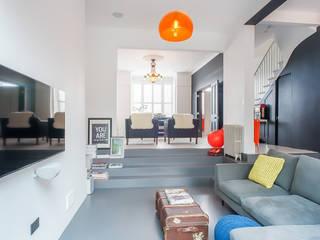 Salas de estar ecléticas por HollandGreen