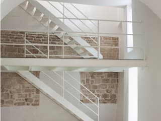 3C+M architettura Couloir, entrée, escaliers minimalistes