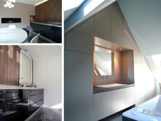 Réhabilitation d'une maison en Haute Normandie: Maisons de style  par ColletDesign