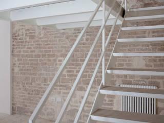 3C+M architettura Pasillos, vestíbulos y escaleras de estilo minimalista