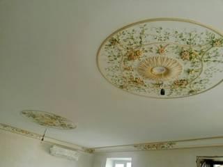 роспись гипса: Гостиная в . Автор – Абрикос