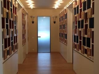 Декоративный шкаф-стеллаж в коридоре:  в . Автор – Территория Дизайна
