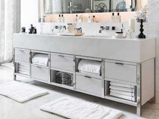 Marble Vanity Unit:   by Ligneous Designs