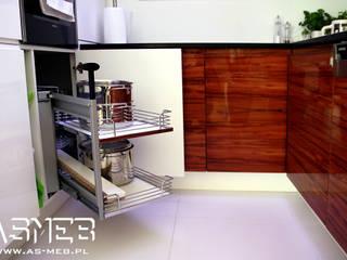 Realizacja Legionowo Nowoczesna kuchnia od AS-MEB Nowoczesny