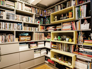 Home Office: Escritórios  por Casa 2 Arquitetos