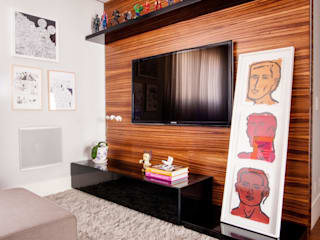 Casa 2 Arquitetos Ruang Media Modern