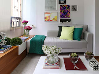 Salon moderne par Casa 2 Arquitetos Moderne