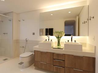 Casa 2 Arquitetos 現代浴室設計點子、靈感&圖片