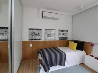 Casa 2 Arquitetos Kamar Tidur Modern