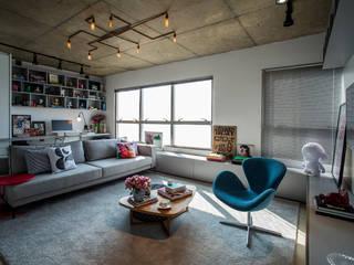Livings de estilo moderno por Casa 2 Arquitetos