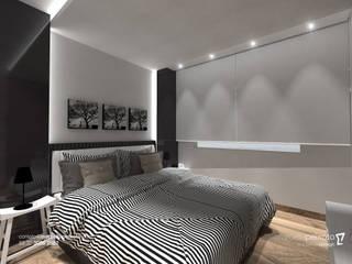 Projeto de Interiores de Residência em Juiz de Fora, Minas Gerais. Quartos modernos por Marcella Peixoto Arquitetura Design Moderno