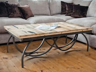 Elegance Swirl Coffee Table swinging monkey designs Living roomSide tables & trays