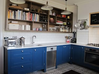 Alexandra Park.....Muswell Hill, North London. Cuisine moderne par Matthews Unique Kitchens Moderne