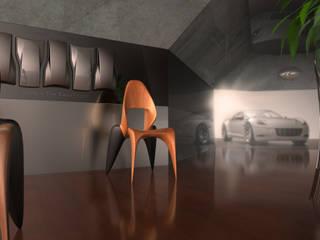 SkulptChair: modern  von ThomasCleverDesign,Modern