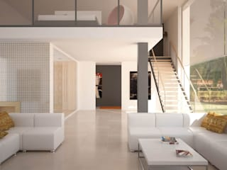 Minimalist living room by INTERAZULEJO Minimalist