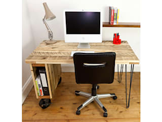 Industrial Office Desk swinging monkey designs Study/officeDesks
