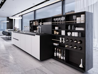 Kitchen by Aksenova&Gorodkov project