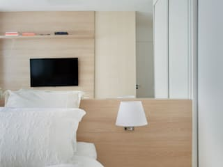 Carolina Mendonça Projetos de Arquitetura e Interiores LTDA ห้องนอน