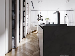 Modern kitchen by Aksenova&Gorodkov project Modern