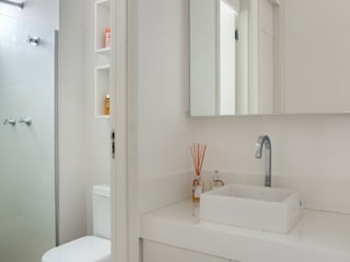 Carolina Mendonça Projetos de Arquitetura e Interiores LTDA ห้องน้ำ