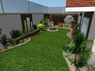 モダンな庭 の Zen Ambient モダン