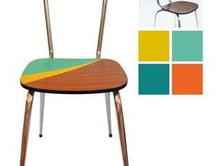 Chaise Dinette 3 - 29€:  de style  par Angèle Ethuin - Designer d'intérieur & Coloriste