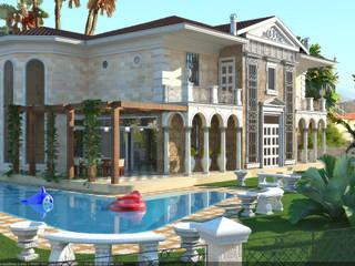 Фасады Дома в классическом стиле от Architoria 3D Классический
