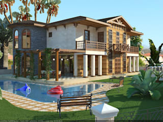 Classic style houses by Architoria 3D Classic