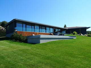 Villa C. Maisons modernes par RB CONCEPT Moderne