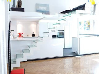 Appartement Bourgeois Salle à manger moderne par RB CONCEPT Moderne