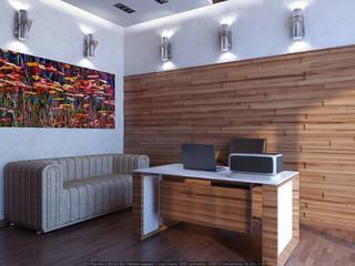 В стиле экоминимализм Рабочий кабинет в стиле минимализм от Architoria 3D Минимализм