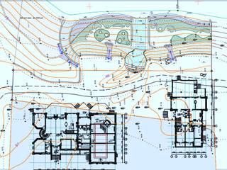 Эскизы ландшафтов Дома в стиле минимализм от Architoria 3D Минимализм
