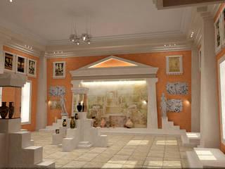 Эскизы музея в Херсонесе от Architoria 3D Классический
