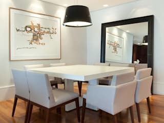 Modern dining room by Liliana Zenaro Interiores Modern