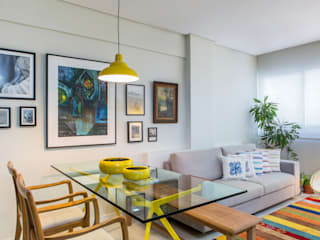 Modern dining room by Milla Holtz & Bruno Sgrillo Arquitetura Modern