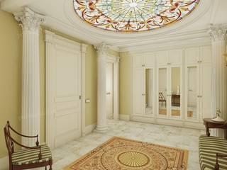 Living room by Архитектурное Бюро 'Капитель', Classic