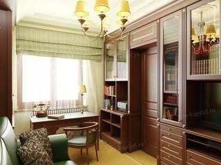 Study/office by Архитектурное Бюро 'Капитель', Classic