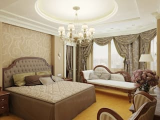 Kamar Tidur oleh Архитектурное Бюро 'Капитель', Klasik