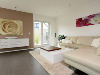 Livings de estilo moderno por FingerHaus GmbH