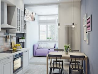 Scandinavian style kitchen by Анна Теклюк Scandinavian