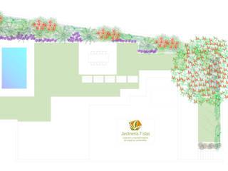 El diseño finalista:  de estilo  de Jardineria 7 islas