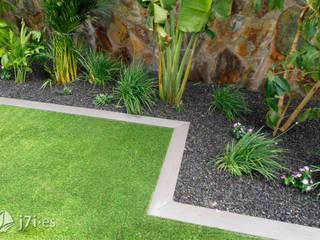 El enmarcado del jardín Jardines de estilo moderno de Jardineria 7 islas Moderno