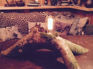 """Настольная лампа """"Мишкина лампа"""": Гостиная в . Автор – Eco Shining Home"""