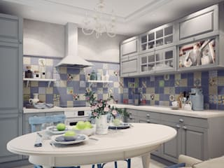 Eclectic style kitchen by Анна Теклюк Eclectic