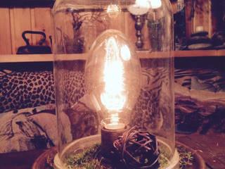 """Настольная лампа """"Botanical Garden"""": Гостиная в . Автор – Eco Shining Home"""