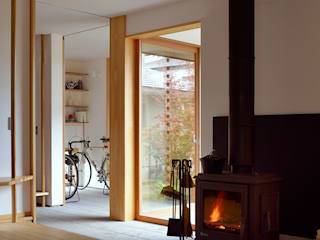 ห้องนั่งเล่น by 松原正明建築設計室