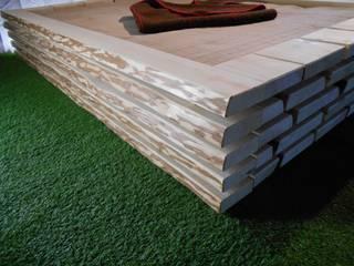 ''aufgestapelt'' Bett aus Massivholz:   von Spreisslwerk